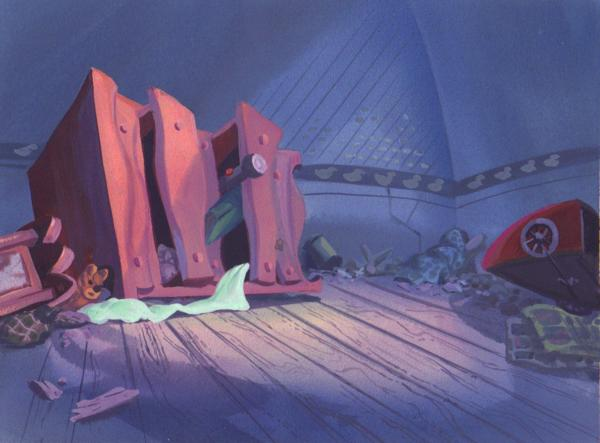 Rock-a-Doodle Background 2