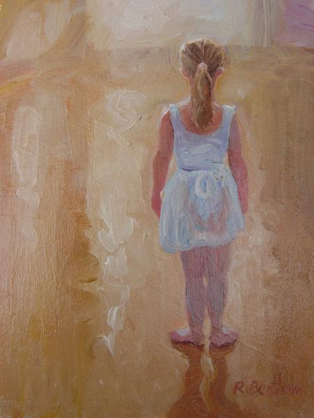 The Ballerina, 8 X 6 (Oil) - Sold