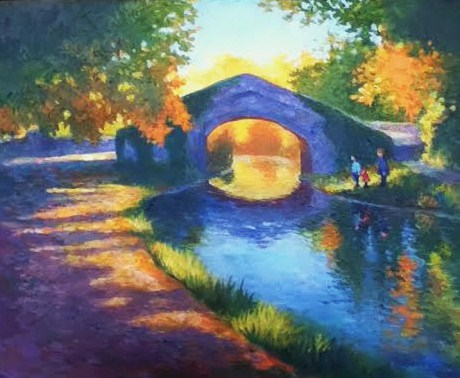 The Old Stone Bridge, 12 X 16 (Oil)