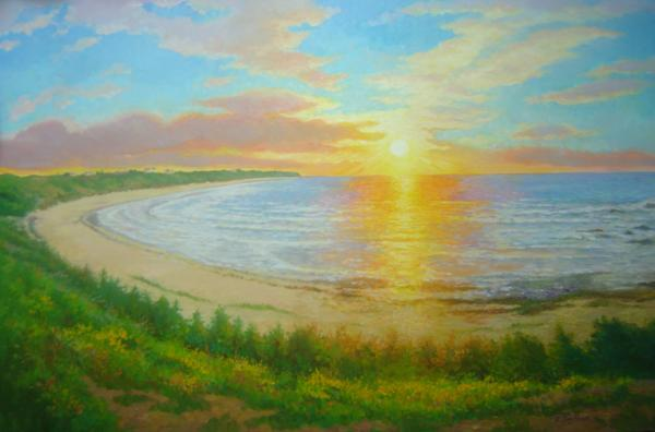 Sunrise, Co. Wexford, 24 X 36 (Oil) - Sold